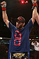 RIO DE JANEIRO, BRAZIL - OCTOBER 13:  Jon Fitch reacts after defeating Erick Silva during their welterweight fight at UFC 153 inside HSBC Arena on October 13, 2012 in Rio de Janeiro, Brazil.  (Photo by Josh Hedges/Zuffa LLC/Zuffa LLC via Getty Images)