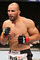 RIO DE JANEIRO, BRAZIL - OCTOBER 13:  Glover Teixeira stands in the Octagon during his light heavyweight fight against Fabio Maldonado at UFC 153 inside HSBC Arena on October 13, 2012 in Rio de Janeiro, Brazil.  (Photo by Josh Hedges/Zuffa LLC/Zuffa LLC via Getty Images)