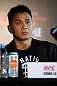 HONG KONG - NOVEMBER 07:  Cung Le speaks during a UFC press conference at Harbour City Mall on November 7, 2012 in Hong Kong, Hong Kong.  (Photo by Josh Hedges/Zuffa LLC/Zuffa LLC via Getty Images)