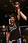 MACAU, MACAU - NOVEMBER 10: Alex Caceres reacts after defeating Motonobu Tezuka during their bantamweight bout at the UFC Macao event inside CotaiArena on November 10, 2012 in Macau, Macau. (Photo by Josh Hedges/Zuffa LLC/Zuffa LLC via Getty Images)