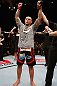 MACAU, MACAU - NOVEMBER 10: Thiago Silva reacts after defeating Stanislav Nedkov during their light heavyweight bout at the UFC Macao event inside CotaiArena on November 10, 2012 in Macau, Macau. (Photo by Josh Hedges/Zuffa LLC/Zuffa LLC via Getty Images)