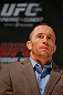 MONTREAL, CANADA - NOVEMBER 14:  Georges St-Pierre interacts with media and fans during the final pre-fight press conference ahead of UFC 154 at New City Gas on November 14, 2012 in Montreal, Quebec, Canada.  (Photo by Josh Hedges/Zuffa LLC/Zuffa LLC via Getty Images)