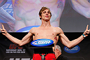 MONTREAL, CANADA - NOVEMBER 16:  Matthew Riddle weighs in during the official UFC 154 weigh in at New City Gas on November 16, 2012 in Montreal, Quebec, Canada.  (Photo by Josh Hedges/Zuffa LLC/Zuffa LLC via Getty Images)
