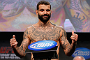 MONTREAL, CANADA - NOVEMBER 16:  Alessio Sakara weighs in during the official UFC 154 weigh in at New City Gas on November 16, 2012 in Montreal, Quebec, Canada.  (Photo by Josh Hedges/Zuffa LLC/Zuffa LLC via Getty Images)