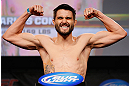 MONTREAL, CANADA - NOVEMBER 16: Carlos Condit weighs in during the official UFC 154 weigh in at New City Gas on November 16, 2012 in Montreal, Quebec, Canada. (Photo by Josh Hedges/Zuffa LLC/Zuffa LLC via Getty Images)