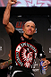 MONTREAL, CANADA - NOVEMBER 16: Georges St-Pierre salutes the fans during the official UFC 154 weigh in at New City Gas on November 16, 2012 in Montreal, Quebec, Canada. (Photo by Josh Hedges/Zuffa LLC/Zuffa LLC via Getty Images)
