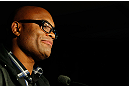 MONTREAL, QC - NOVEMBER 17:  Anderson da Silva speaks to the media prior to UFC 154 on November 17, 2012  at the Bell Centre in Montreal, Canada.  (Photo by Josh Hedges/Zuffa LLC/Zuffa LLC via Getty Images)