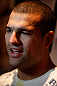 "SEATTLE, WA - DECEMBER 05:  Mauricio ""Shogun"" Rua interacts with media during the UFC on FOX open workouts on December 5, 2012  at the Grand Hyatt Seattle in Seattle, Washington.  (Photo by Josh Hedges/Zuffa LLC/Zuffa LLC via Getty Images)"