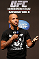 SEATTLE, WA - DECEMBER 07:  Demetrious Johnson interacts with fans during a Q&A session before the official UFC on FOX weigh in on December 7, 2012 at Key Arena in Seattle, Washington.  (Photo by Josh Hedges/Zuffa LLC/Zuffa LLC via Getty Images)