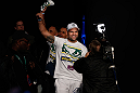 SEATTLE, WA - DECEMBER 07:  Mauricio &quot;Shogun&quot; Rua enters the arena before weighing in during the official UFC on FOX weigh in on December 7, 2012 at Key Arena in Seattle, Washington.  (Photo by Josh Hedges/Zuffa LLC/Zuffa LLC via Getty Images)