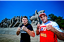 Vitor (Ex-campeão meio pesado) vs. Bisping (vencedor do TUF 3)