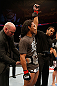 SEATTLE, WA - DECEMBER 08:  Benson Henderson has his hand raised after his victory over Nate Diaz in their lightweight championship bout at the UFC on FOX event on December 8, 2012  at Key Arena in Seattle, Washington.  (Photo by Josh Hedges/Zuffa LLC/Zuffa LLC via Getty Images) *** Local Caption *** Benson Henderson; Nate Diaz
