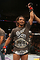 SEATTLE, WA - DECEMBER 08:  Benson Henderson reacts to his victory over Nate Diaz after their lightweight championship bout at the UFC on FOX event on December 8, 2012  at Key Arena in Seattle, Washington.  (Photo by Ezra Shaw/Zuffa LLC/Zuffa LLC via Getty Images) *** Local Caption *** Benson Henderson; Nate Diaz