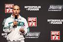 GOLD COAST, AUSTRALIA - DECEMBER 14:  UFC host Jon Anik interacts with fans during a Q&amp;A session before the UFC on FX weigh in on December 14, 2012 at Gold Coast Convention and Exhibition Centre in Gold Coast, Queensland, Australia.  (Photo by Josh Hedges/Zuffa LLC/Zuffa LLC via Getty Images)
