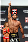 GOLD COAST, AUSTRALIA - DECEMBER 14:  Rousimar Palhares weighs in during the UFC on FX weigh in on December 14, 2012 at Gold Coast Convention and Exhibition Centre in Gold Coast, Queensland, Australia.  (Photo by Josh Hedges/Zuffa LLC/Zuffa LLC via Getty Images)