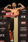LAS VEGAS, NV - DECEMBER 14:  Mike Rio weighs in during TUF 16 Finale weigh in on December 14, 2012  at the Joint at the Hard Rock in Las Vegas, Nevada.  (Photo by Jim Kemper/Zuffa LLC/Zuffa LLC via Getty Images)