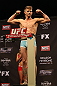 LAS VEGAS, NV - DECEMBER 14:  Mike Pyle weighs in during TUF 16 Finale weigh in on December 14, 2012  at the Joint at the Hard Rock in Las Vegas, Nevada.  (Photo by Jim Kemper/Zuffa LLC/Zuffa LLC via Getty Images)