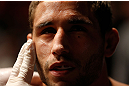GOLD COAST, AUSTRALIA - DECEMBER 15:  Chad Mendes prepares to enter the Octagon before his featherweight fight against Yaotzin Meza at the UFC on FX event on December 15, 2012  at Gold Coast Convention and Exhibition Centre in Gold Coast, Australia.  (Photo by Josh Hedges/Zuffa LLC/Zuffa LLC via Getty Images)