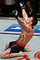 GOLD COAST, AUSTRALIA - DECEMBER 15:  Norman Parke celebrates after his lightweight fight against Colin Fletcher at the UFC on FX event on December 15, 2012  at Gold Coast Convention and Exhibition Centre in Gold Coast, Australia.  (Photo by Josh Hedges/Zuffa LLC/Zuffa LLC via Getty Images)