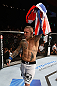 GOLD COAST, AUSTRALIA - DECEMBER 15:  Ross Pearson reacts after his knockout victory over George Sotiropoulos during their lightweight fight at the UFC on FX event on December 15, 2012  at Gold Coast Convention and Exhibition Centre in Gold Coast, Australia.  (Photo by Josh Hedges/Zuffa LLC/Zuffa LLC via Getty Images)