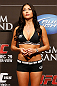 LAS VEGAS, NV - DECEMBER 28:  UFC Octagon Girl Arianny Celeste stands on stage during the UFC 155 weigh-in on December 28, 2012 at MGM Grand Garden Arena in Las Vegas, Nevada. (Photo by Josh Hedges/Zuffa LLC/Zuffa LLC via Getty Images)