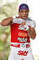 SAO PAULO, BRAZIL - JANUARY 16:  Vitor Belfort participates in an open workout session for media and fans on January 16, 2013 at Parque Anhangabau in Sao Paulo, Brazil. (Photo by Josh Hedges/Zuffa LLC/Zuffa LLC via Getty Images)