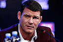 SAO PAULO, BRAZIL - JANUARY 17:  Michael Bisping interacts with media during a UFC press conference on January 17, 2013 at the Hilton Hotel in Sao Paulo, Brazil. (Photo by Josh Hedges/Zuffa LLC/Zuffa LLC via Getty Images)
