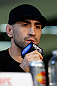 CHICAGO, IL - JANUARY 24:  Ricardo Lamas interacts with media during the UFC on FOX press conference on January 24, 2013 at the United Center in Chicago, Illinois. (Photo by Josh Hedges/Zuffa LLC/Zuffa LLC via Getty Images)