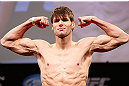 CHICAGO, IL - JANUARY 25:  Simeon Thoresen weighs in during the UFC on FOX weigh-in on January 25, 2013 at the Chicago Theatre in Chicago, Illinois. (Photo by Josh Hedges/Zuffa LLC/Zuffa LLC via Getty Images)