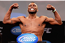 CHICAGO, IL - JANUARY 25:  Sean Spencer weighs in during the UFC on FOX weigh-in on January 25, 2013 at the Chicago Theatre in Chicago, Illinois. (Photo by Josh Hedges/Zuffa LLC/Zuffa LLC via Getty Images)