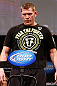 CHICAGO, IL - JANUARY 25:  Mike Russow weighs in during the UFC on FOX weigh-in on January 25, 2013 at the Chicago Theatre in Chicago, Illinois. (Photo by Josh Hedges/Zuffa LLC/Zuffa LLC via Getty Images)