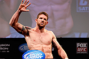 CHICAGO, IL - JANUARY 25:  Ryan Bader weighs in during the UFC on FOX weigh-in on January 25, 2013 at the Chicago Theatre in Chicago, Illinois. (Photo by Josh Hedges/Zuffa LLC/Zuffa LLC via Getty Images)