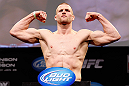 CHICAGO, IL - JANUARY 25:  Pascal Krauss weighs in during the UFC on FOX weigh-in on January 25, 2013 at the Chicago Theatre in Chicago, Illinois.  (Photo by Josh Hedges/Zuffa LLC/Zuffa LLC via Getty Images)