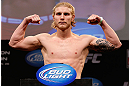 CHICAGO, IL - JANUARY 25:  Mike Stumpf weighs in during the UFC on FOX weigh-in on January 25, 2013 at the Chicago Theatre in Chicago, Illinois. (Photo by Josh Hedges/Zuffa LLC/Zuffa LLC via Getty Images)