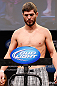 CHICAGO, IL - JANUARY 25:  Matt Wiman weighs in during the UFC on FOX weigh-in on January 25, 2013 at the Chicago Theatre in Chicago, Illinois. (Photo by Josh Hedges/Zuffa LLC/Zuffa LLC via Getty Images)