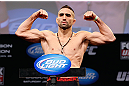 CHICAGO, IL - JANUARY 25:  Ricardo Lamas weighs in during the UFC on FOX weigh-in on January 25, 2013 at the Chicago Theatre in Chicago, Illinois. (Photo by Josh Hedges/Zuffa LLC/Zuffa LLC via Getty Images)