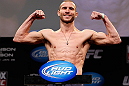 "CHICAGO, IL - JANUARY 25:  Donald ""Cowboy"" Cerrone weighs in during the UFC on FOX weigh-in on January 25, 2013 at the Chicago Theatre in Chicago, Illinois. (Photo by Josh Hedges/Zuffa LLC/Zuffa LLC via Getty Images)"