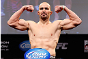 CHICAGO, IL - JANUARY 25:  Glover Teixeira weighs in during the UFC on FOX weigh-in on January 25, 2013 at the Chicago Theatre in Chicago, Illinois. (Photo by Josh Hedges/Zuffa LLC/Zuffa LLC via Getty Images)