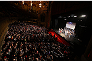 "CHICAGO, IL - JANUARY 25:  A general view of the theatre as Quinton ""Rampage"" Jackson weighs in during the UFC on FOX weigh-in on January 25, 2013 at the Chicago Theatre in Chicago, Illinois. (Photo by Josh Hedges/Zuffa LLC/Zuffa LLC via Getty Images)"