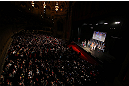 CHICAGO, IL - JANUARY 25:  A general view of the theatre as Demetrious Johnson and John Dodson during the UFC on FOX weigh-in on January 25, 2013 at the Chicago Theatre in Chicago, Illinois. (Photo by Josh Hedges/Zuffa LLC/Zuffa LLC via Getty Images)