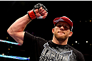 CHICAGO, IL - JANUARY 26:  Ryan Bader celebrates defeating Vladimir Matyushenko during their Light Heavyweight Bout part of UFC on FOX at United Center on January 26, 2013 in Chicago, Illinois.  (Photo by Al Bello/Zuffa LLC/Zuffa LLC Via Getty Images)
