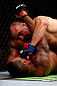 CHICAGO, IL - JANUARY 26:  Glover Teixeira (Top) fights Rampage Jackson (Bottom) during their Light Heavyweight Bout part of UFC on FOX at United Center on January 26, 2013 in Chicago, Illinois.  (Photo by Josh Hedges/Zuffa LLC/Zuffa LLC Via Getty Images)