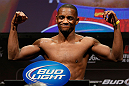 LAS VEGAS, NV - FEBRUARY 01:  Yves Edwards weighs in during the UFC 156 weigh-in on February 1, 2013 at Mandalay Bay Events Center in Las Vegas, Nevada.  (Photo by Josh Hedges/Zuffa LLC/Zuffa LLC via Getty Images)