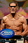 LAS VEGAS, NV - FEBRUARY 01:  Antonio &quot;Bigfoot&quot; Silva weighs in during the UFC 156 weigh-in on February 1, 2013 at Mandalay Bay Events Center in Las Vegas, Nevada.  (Photo by Josh Hedges/Zuffa LLC/Zuffa LLC via Getty Images)