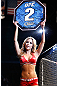 LAS VEGAS, NV - FEBRUARY 02:  UFC Octagon Girl Brittney Palmer introduces round two of Chico Camus and Dustin Kimura's bantamweight fight at UFC 156 on February 2, 2013 at the Mandalay Bay Events Center in Las Vegas, Nevada.  (Photo by Josh Hedges/Zuffa LLC/Zuffa LLC via Getty Images) *** Local Caption *** Chico Camus; Dustin Kimura