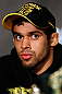 LONDON, ENGLAND - FEBRUARY 13:  Renan Barao interacts with media during a UFC press conference on February 13, 2013 at Hooks Gym in London, England.  (Photo by Josh Hedges/Zuffa LLC/Zuffa LLC via Getty Images)