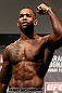 LONDON, ENGLAND - FEBRUARY 15:  Jimi Manuwa weighs in during the UFC weigh-in on February 15, 2013 at Wembley Arena in London, England.  (Photo by Josh Hedges/Zuffa LLC/Zuffa LLC via Getty Images)