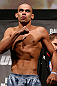 LONDON, ENGLAND - FEBRUARY 15:  Renan Barao weighs in during the UFC weigh-in on February 15, 2013 at Wembley Arena in London, England.  (Photo by Josh Hedges/Zuffa LLC/Zuffa LLC via Getty Images)