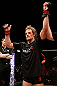 LONDON, ENGLAND - FEBRUARY 16:  Gunnar Nelson reacts after defeating Jorge Santiago in their welterweight fight during the UFC on Fuel TV event on February 16, 2013 at Wembley Arena in London, England.  (Photo by Josh Hedges/Zuffa LLC/Zuffa LLC via Getty Images)