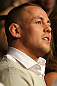 LONDON, ENGLAND - FEBRUARY 16:  UFC lightweight contender Ross Pearson attends the UFC on Fuel TV event on February 16, 2013 at Wembley Arena in London, England.  (Photo by Mike Roach/Zuffa LLC/Zuffa LLC via Getty Images)
